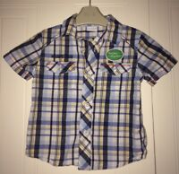 Boys Age 2-3 Years - Shirt From Mini Club (Boots)