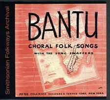 Pete Seeger, Song Sw - Bantu Choral Folk Songs [New CD]