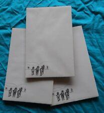 Racing Horses Notepad 50 Sheets 8.5 x 5.5 New Black & White Drawing-3 pads