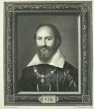Maximilien de Béthune duc de Sully Rosny au Duc de Berry par P J Jamont XVII ème
