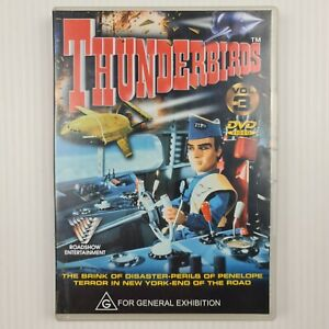 Thunderbirds Volume 3 DVD - TRACKED POST