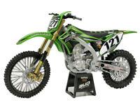 NewRay 1:12 Kawasaki KX450 No121 Diecast Motorcycle No Box