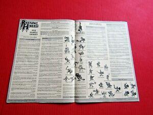 Ravening Hordes Warhammer Citadel Miniatures Advert Order Vintage Paper