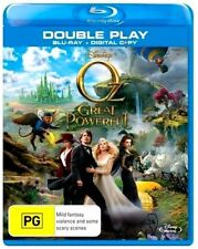 Disney OZ THE GREAT AND POWERFUL New Blu-Ray + HD Copy JAMES FRANCO ***