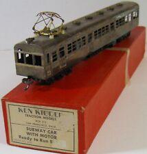 Ken Kidder Powered Subway Car #2050 HO Brass 1962
