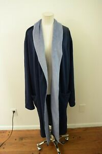 UGG Robe Navy Blue Large/XL Missing Belt Plush Lined Jersey