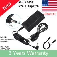 Lenovo Ideapad 100-15ibd N3540 Laptop Power Supply Ac Adapter Cord Cable Charger