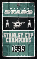 Dallas Stars NHL Stanley Cup Championship Flag 3x5 ft Sports Banner Man-Cave New