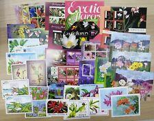 A0023 FLOWERS ORCHIDS FLORA PLANTS NATURE !!! BIG MIX !!! 36sh MNH
