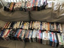 VHS TAPES ALL TYPES .75EA IF YOU BUY ALL(110) IF YOU YOU CHOOSE 1 OR MORE $1.00