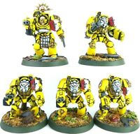 Warhammer 40K Space Marines Imperial Fists Terminators Squad