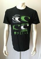 O'Neill Classic Tee Men's Large Black Short Sleeve Crew Neck Cotton T Shirt