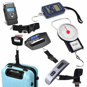 Luggage Weight Scales Digital Travel Suitcase Portable Electronic Weigher Bag