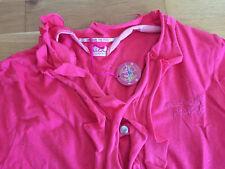 NEU Nolita Pocket Cardigan 14 152 158 Sommer Stoffjacke rosa-meliert Volantjacke