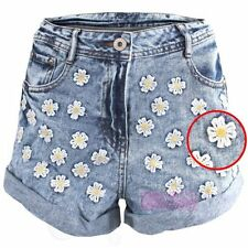 Floral Cotton High Rise Shorts for Women