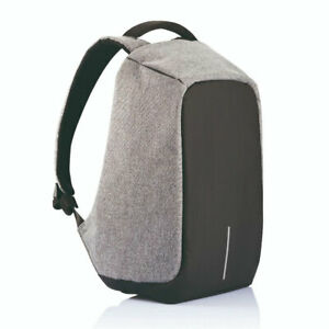 XD Design Bobby XL Anti Theft Travel Laptop Case Backpack with USB Port, Grey