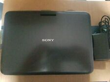 """Sony Dvp-Fx820 Portable Cd Dvd Player 7"""" Screen with adapter. No battery"""