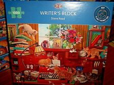 *WRITER'S BLOCK* GIBSONS 1000 PIECES JIGSAW PUZZLE. NEW!