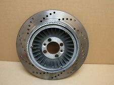 BMW K1100LT 1997 37,653 miles rear ABS brake disc (2955)