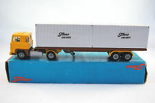 TEKNO 1:50 SCANIA LB 141 Artic Truck & Metal Trailer in Tekno CONTAINER Livery