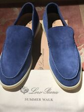 Loro Piana Summer Walks Classic Light Blue Size 43.Men's 10US.