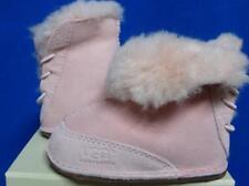 UGG Australia Infant BOO PINK Suede Sheepskin Boots Booties Size M NIB #5206