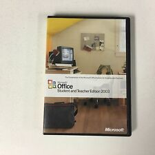 Microsoft Office 2003 Student and Teacher Edition Outlook, Word With Product Key