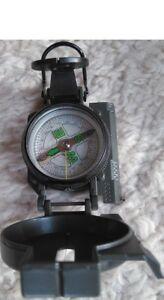 Wanderkompass Peil & Marschkompass Taschenkompass Metall Bundeswehr Kompass