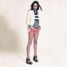 J BRAND Designer Cut Off Denim Jean Shorts Size 27 9 NEW
