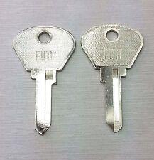 FIAT 124 1967 to 1983 Key Blank