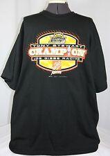 NASCAR Tony Stewart 2005 Champion Black Graphic Print T Shirt Home Depot Men 2XL