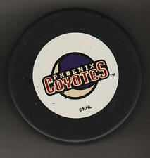 Phoenix Coyotes NHL Hockey Puck Mystical Pyscho Coyote MIA Crescent MOON CooLnes