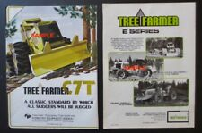 1985 TREE FARMER C7 SKIDDER & 1989 TREE FARMER E SERIES SKIDDERS PRINT ADS
