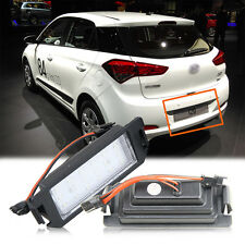 2PCS LED License LUCE TARGA HYUNDAI i20 Veloster FS XG 30 TERRACAN HP Coupe GK
