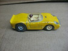 MARX 1/32 SCALE YELLOW FERRARI TYPE CAR #1