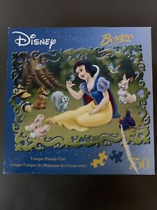 Disney Borders Snow White And Woodland Friends 750 Piece Puzzle Sealed New