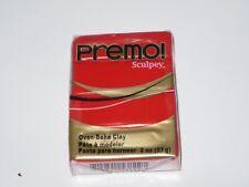 Nuevo 57g (2 OZ) Sculpey primo! Premium Horno Bake Arcilla - 5382 Tono Rojo de cadmio