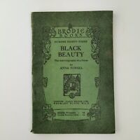 ~ Rare ~ Antiquarian ~ The Brodie Books ~ No. 83 ~ Black Beauty ~ Anna Sewell ~