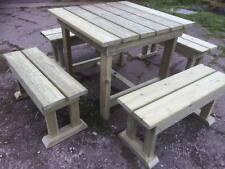 Patio set, Wooden Garden Furniture, Tanalised, Heavy duty , Outdoor living