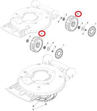 Mountfield Multiclip 501 HP Petrol Lawnmower Wheel Assembly 322686092/0 2011