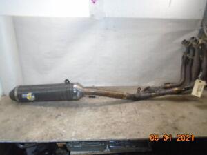 2003 03 Suzuki Hayabusa 1300 GSX1300R LEO VINCE Full Exhaust system pipe muffler