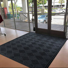 NOTRAX DIAMOND CTE 151U0035CH ENTRANCE MAT W/ AQUA DAM, 3' X 5', CHARCOAL, NEW!