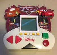 Disney Cars Electronic Portable Handheld 5 in 1 Video Game Zizzle McQueen Mater