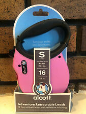 Alcott Expedition Retractable Leash Small 16 feet pink