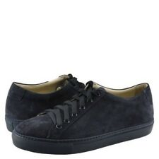 $329 KENNETH COLE BLACK LABEL Mens SUEDE NAVY BLUE TOE SNEAKERS SHOES SIZE 9.5