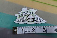 New listing No Fear Skull Wings Motocross Skate Snow Surf Rare Original Sticker - Lot Of 5