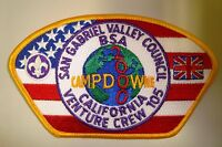 MERGED SAN GABRIEL VALLEY COUNCIL OA 488 PATCH YEL VENTURE 2000 CAMPDOWNE CSP