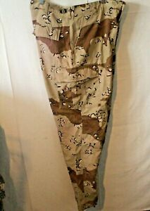 Details about  /US Army Desert Camo Trouser Size Extra Large Regular
