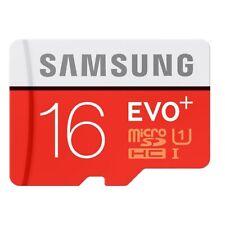 16GB Samsung EVO plus 80MB/s Class 10 UHS-I SDHC MicroSD Karte Speicherkart