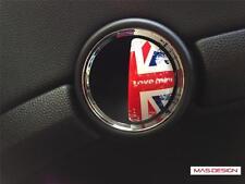 Union Jack JCW Mini cooper Aluminum Door Emblem for R56 R57 R58 R59 Coupe